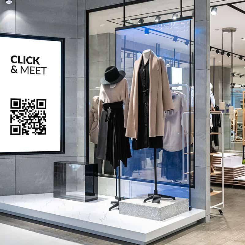 QENservice für Click & Meet