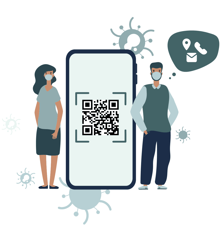 Digitale Gästeregistrierung
